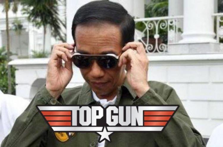 Deretan aksi Jokowi diedit jadi poster 10 film populer, kece abis