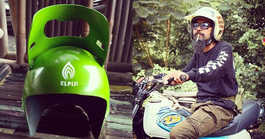 Helm retro antimainstream, bikin jadi pusat perhatian saat berkendara