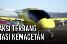 Taksi terbang, transportasi masa depan untuk atasi kemacetan