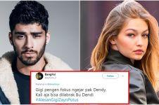 15 Cuitan 'alasan Gigi Hadid & Zayn Malik putus' ini bikin gemes sebel