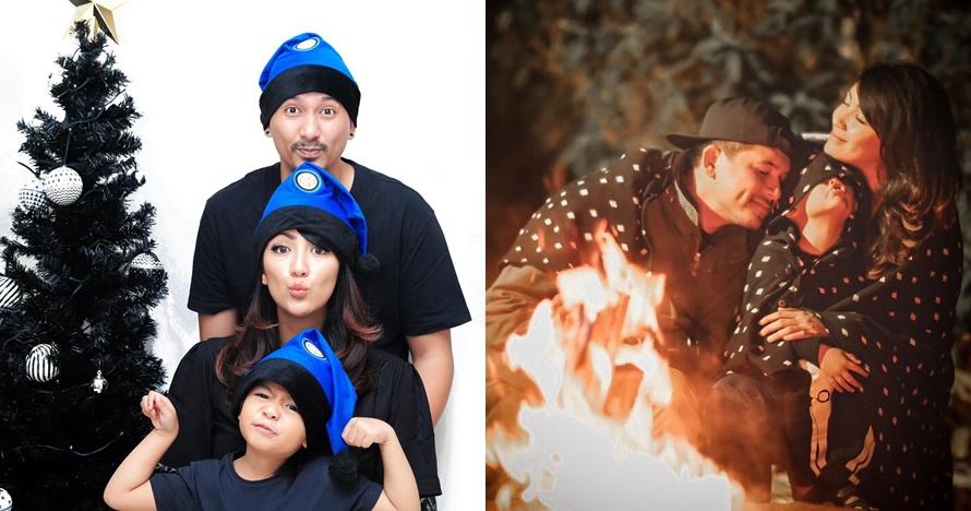 8 Potret kompak keluarga Ryan Delon, sering banget pakai baju couple