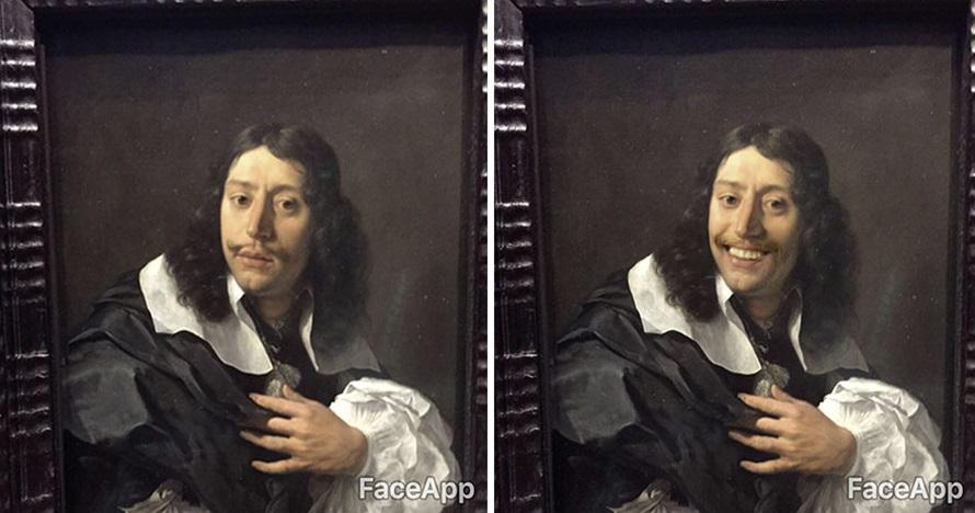 10 Lukisan dan patung tak berekspresi ini diedit pakai FaceApp, kocak!