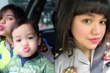 8 Pesona Natasha saat berseragam polisi, polwan cantik adik Vicky Shu