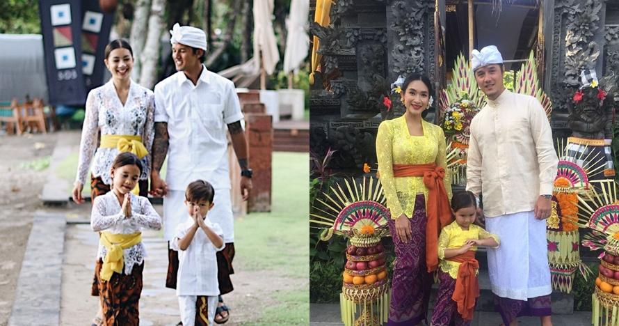 Tinggal di Bali, ini momen keluarga 4 seleb saat turut peringati Nyepi