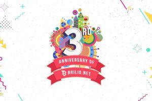 Infografis - Tiga tahun Brilio menghibur millennial Indonesia