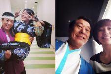 Dikenal penyayang, ini 10 momen kedekatan Chef Harada dengan putrinya