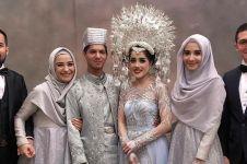 Adik bungsu Zaskia dan Shireen Sungkar menikah, ini 6 momen bahagianya