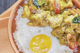 Resep mudah bikin ayam saus telur asin, kuliner lezat yang lagi hits