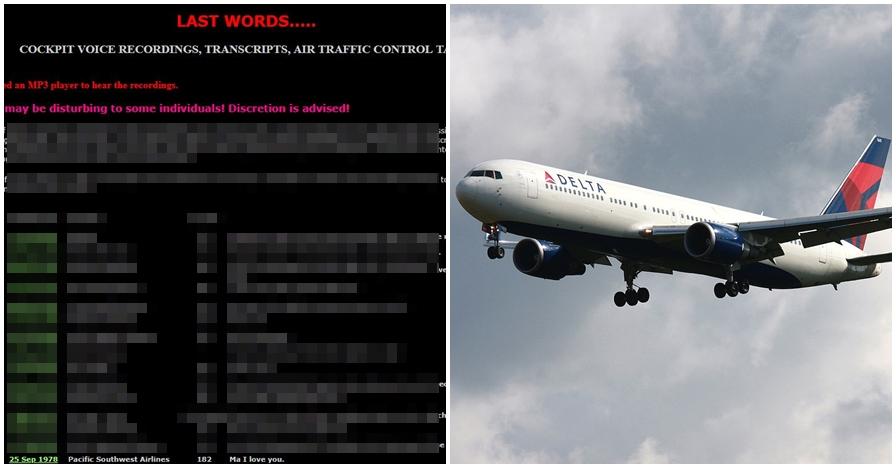 Situs ini gambarkan detik-detik kecelakaan pesawat di dunia, ngeri