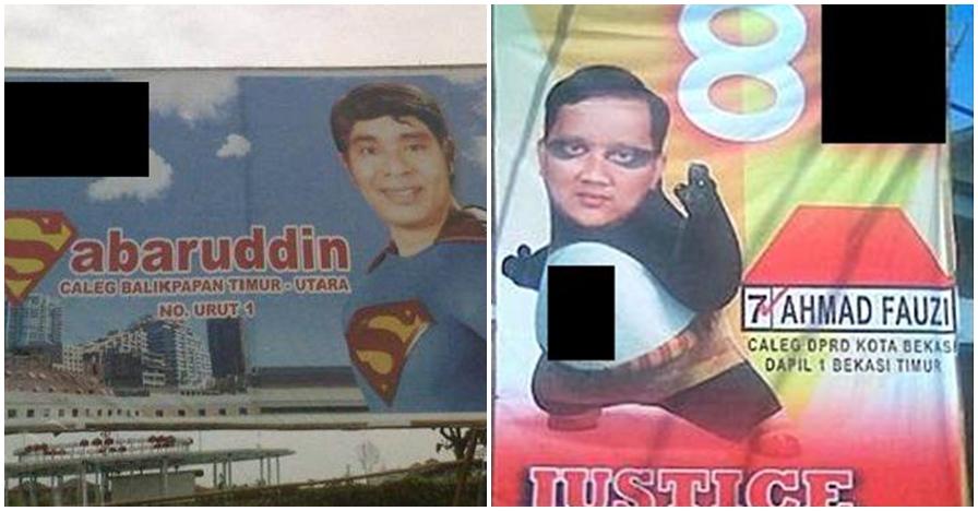 11 Poster kampanye ala caleg jadi superhero ini bikin ngakak salto