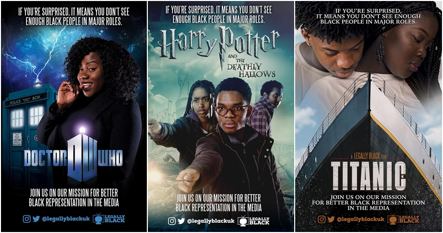 7 Poster film Hollywood versi kulit gelap, kreatif sekaligus nyindir