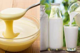 Ini beda kental manis, susu segar, susu UHT dan susu pasteurisasi