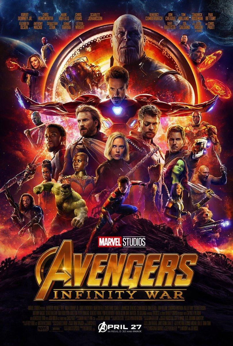 8 pelesetan poster avengers: infinity war © berbagai sumber