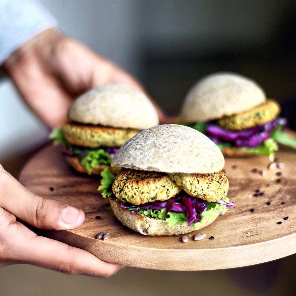makanan vegan laziz ©Instagram/@naturally.jo