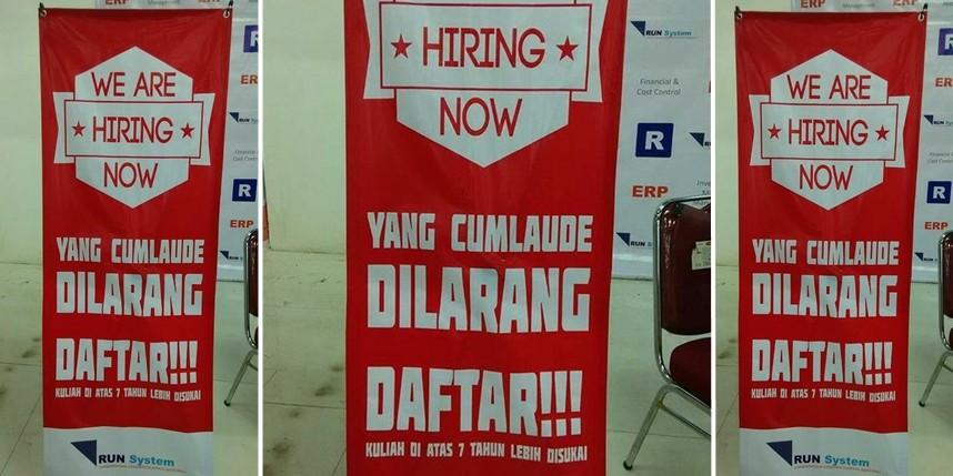 Ini masalah yang sering dihadapi para pencari kerja di Indonesia