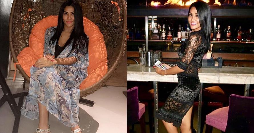 10 Pose hot Melly Bradley, teman lama bongkar Lucinta Luna transgender