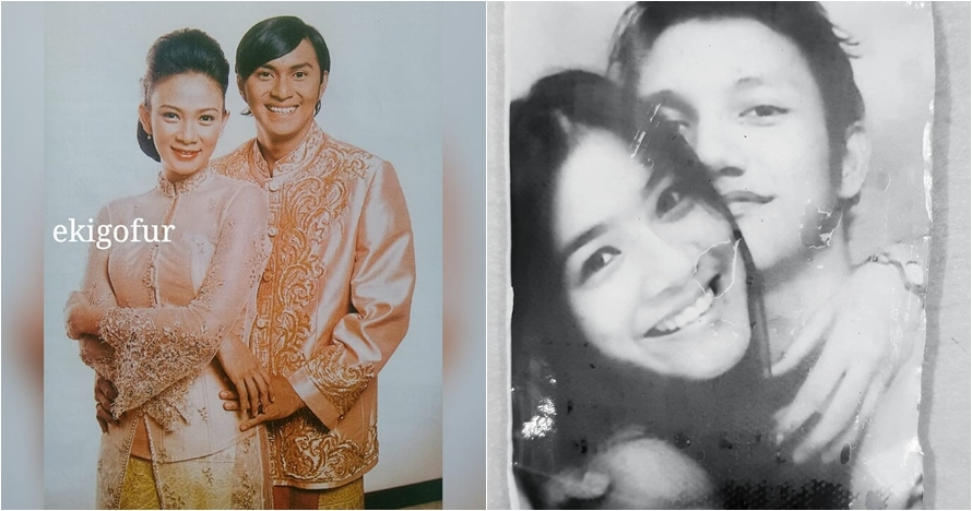 Foto lawas 8 pasangan seleb Tanah Air era 90-an, koleksi langka nih