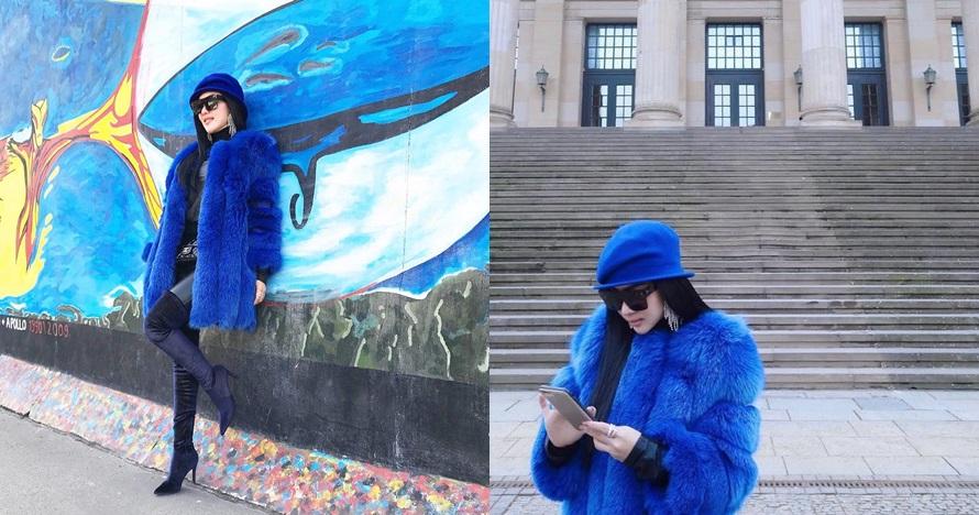 Selfie di Monumen Holocaust, Syahrini langsung dihujat warganet