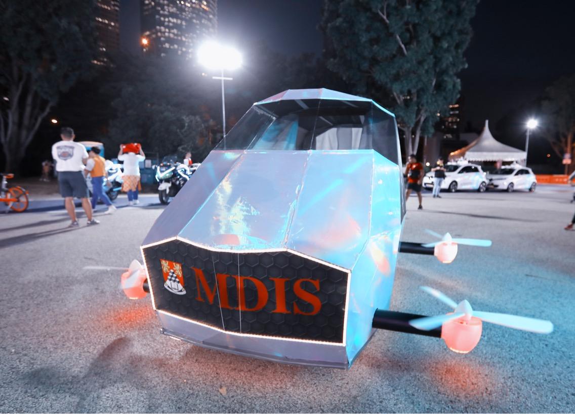 Uniknya kostum 3D mahasiswa Indonesia di Parade Chingay 2018
