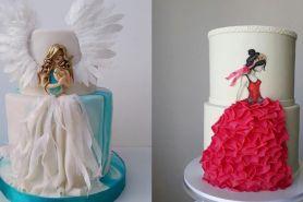 7 Kreasi hiasan cake bentuk dress ini bikin kamu nggak tega makan