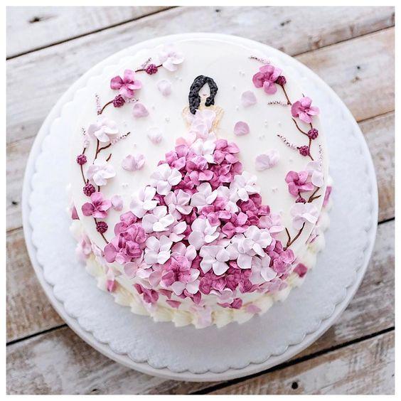 7 Kreasi hiasan cake © 2018 Pinterest