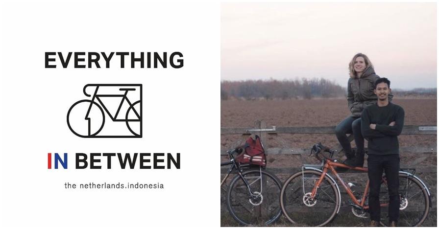 Galang dana sosial, adik Andien bersepeda dari Belanda ke Indonesia