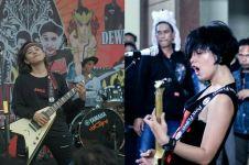 Mengenal gitaris Havinhell Ajeng, si cewek punk penyayang kucing