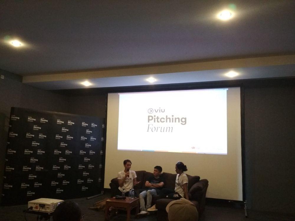 Viu Pitching Forum © 2018 Istimewa