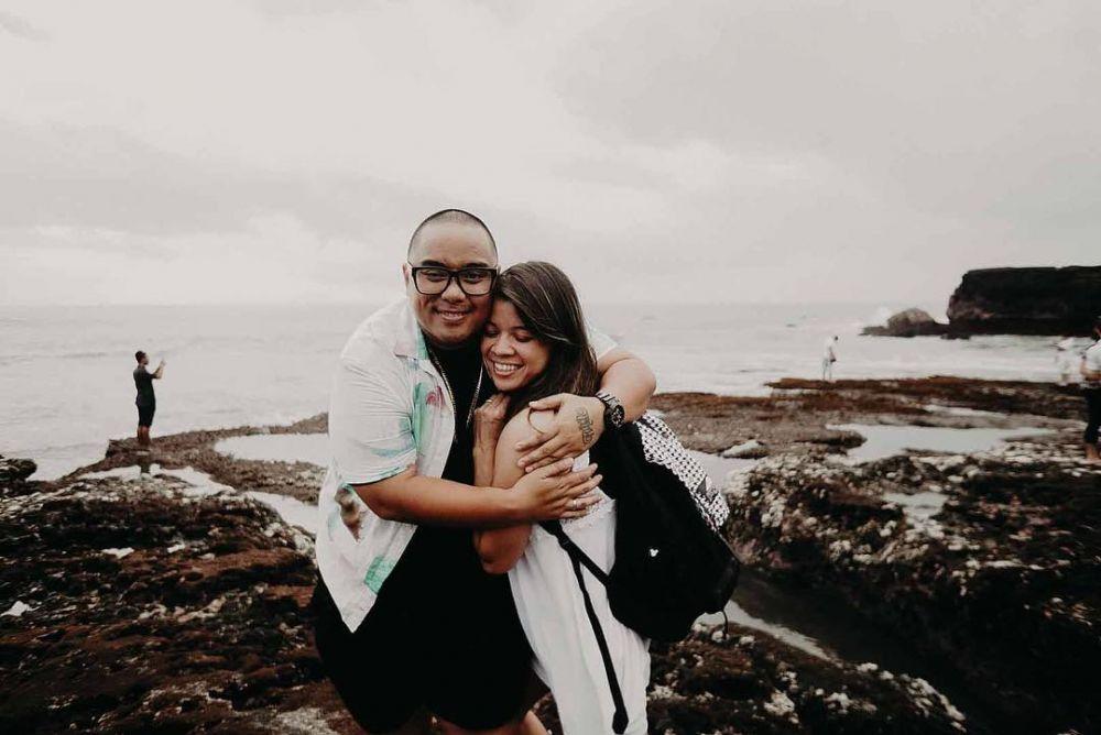 Saykoji dan istri © 2018 Instagram