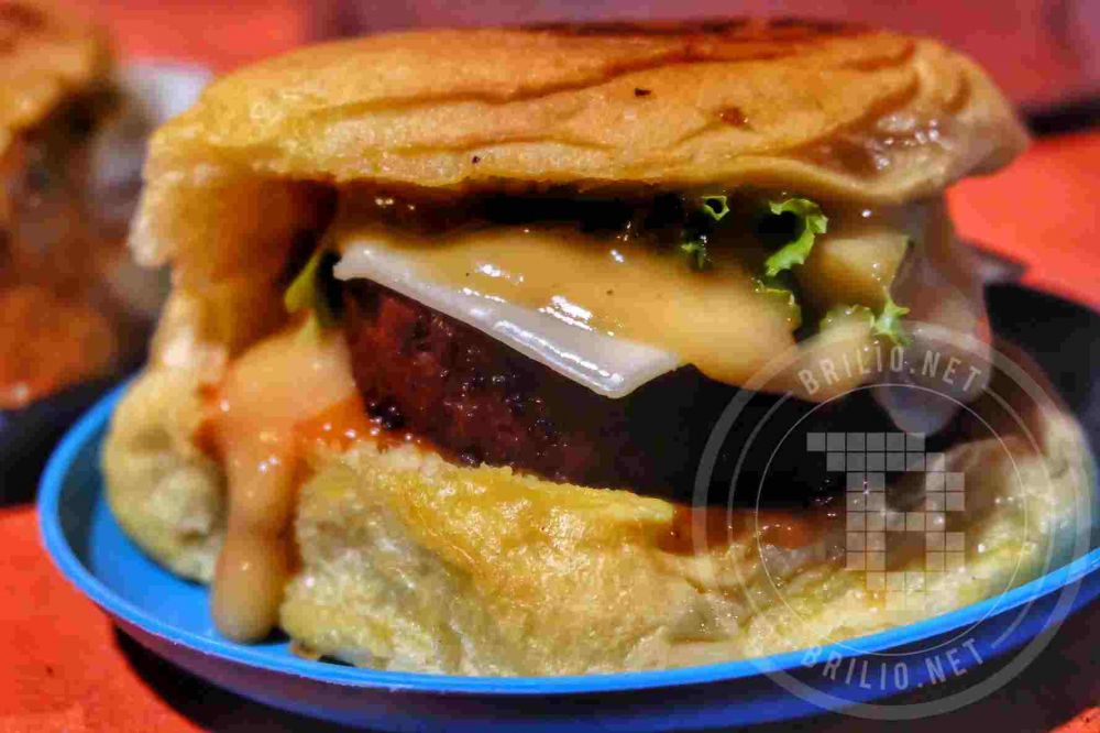 Burger Monalisa © 2018 brilio.net