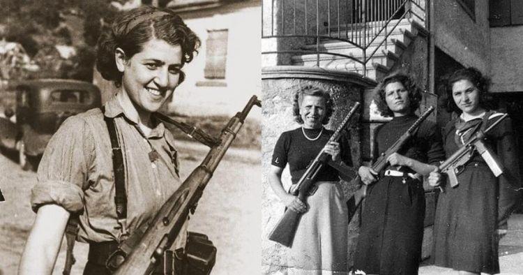 10 Potret pemberani ketika para wanita sipil ikut Perang Dunia II