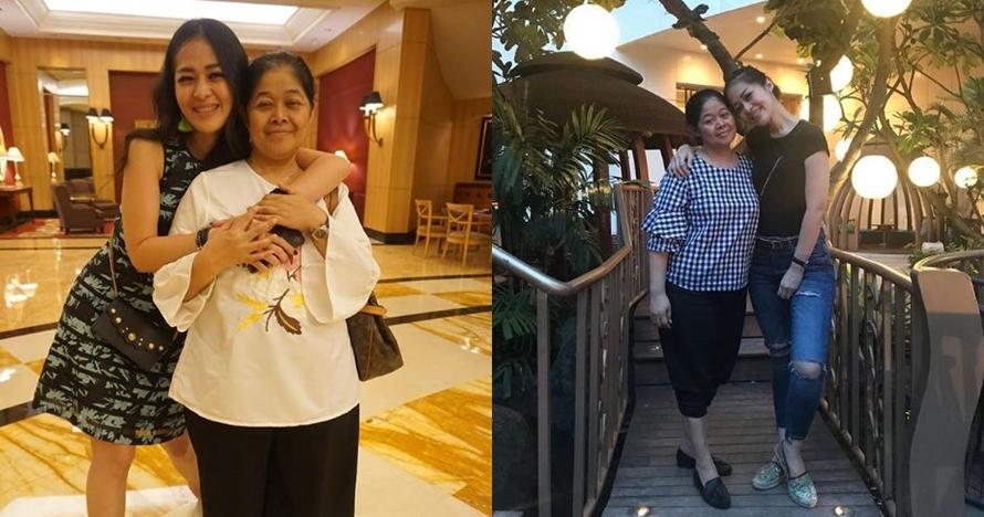 10 Kebersamaan Gracia Indri dengan ibunda, sering jalan-jalan bareng