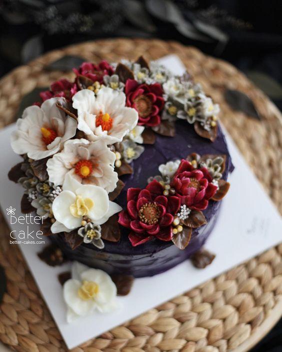 8 Kreasi flowercake © 2018 Pinterest