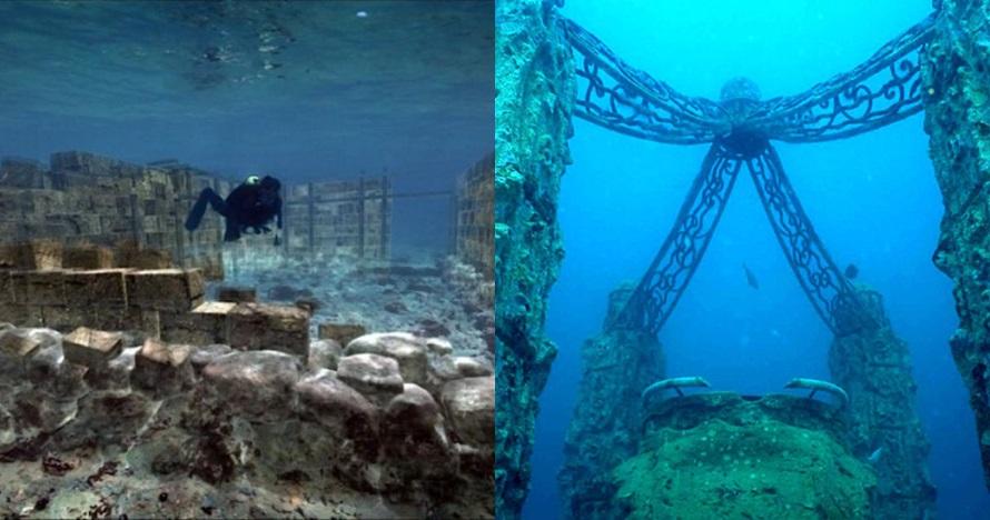 5 Kisah misterius kota kuno bawah laut, suasananya mencekam