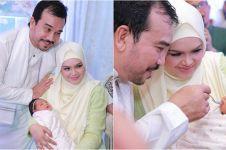 Dikenalkan ke publik, ini 11 momen aqiqah anak pertama Siti Nurhaliza