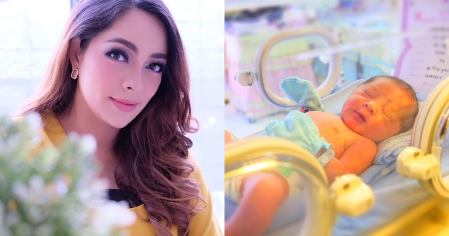 5 Potret baby Satriyo bayi dokter Reisa 'Dr Oz', imutnya kebangetan!