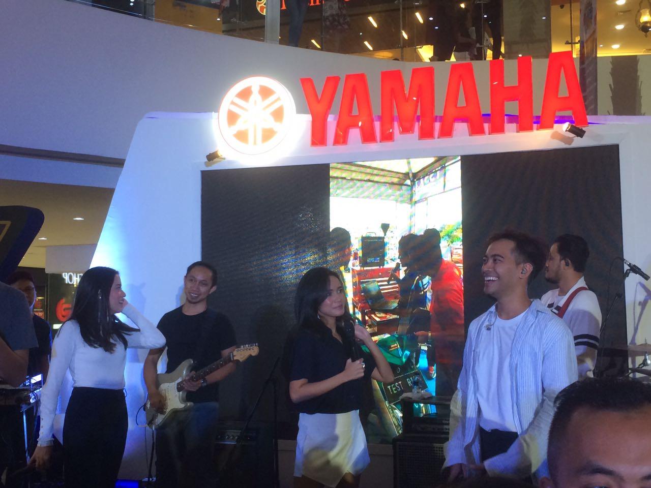 Tampil di Blue Core Yamaha Motor Show 2018, GAC hibur fans Cibinong