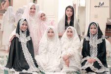 Biasanya hot, ini 5 gaya berkerudung anggota Girl Squad Nia Ramadhani