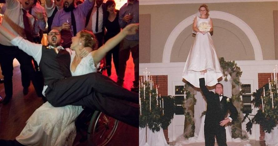10 Foto pernikahan ini bikin salah fokus, gagal romantis deh