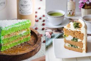 6 Kreasi cake dengan rasa tradisional, dari es cendol hingga soto