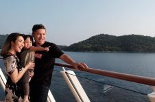 Ajak Koneng liburan naik kapal pesiar, Gading dan Gisel tuai pujian