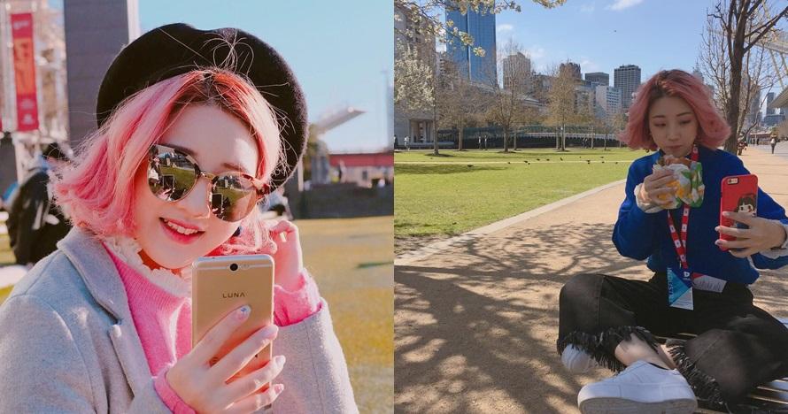 Jarang tampil di TV, ini 10 gaya terbaru Han Yoora berambut pendek