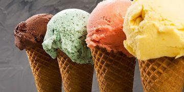 Punya bentuk yang mirip begini beda es krim, gelato dan sorbet