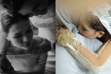 Momen haru 5 seleb cantik saat menitikkan air mata di pernikahannya