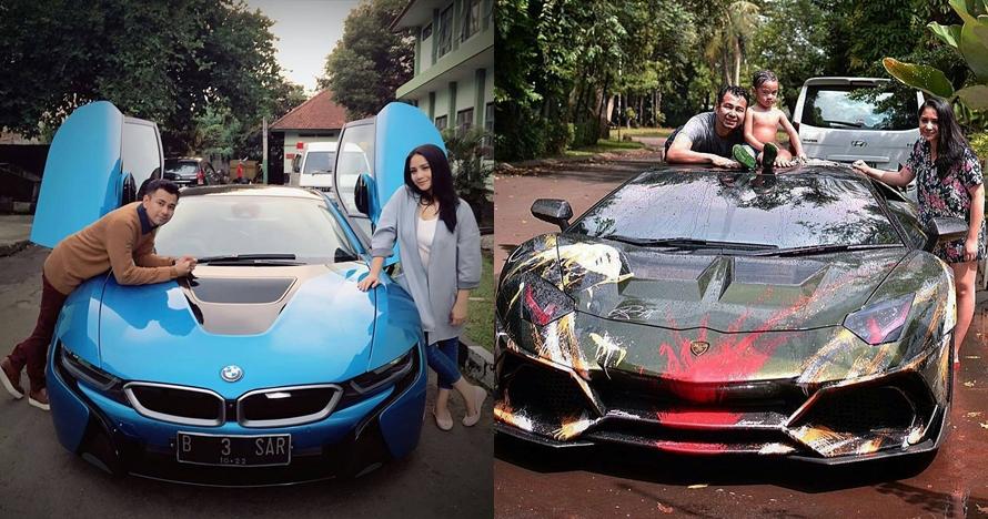 9 Gaya keluarga Raffi-Nagita dengan kendaraan mewah, berkelas banget