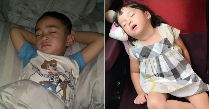 Intip gaya 10 anak seleb saat tidur, mana yang paling bikin gemas?