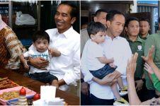 7 Momen hangat Jokowi dan Iriana bermain sama Jan Ethes