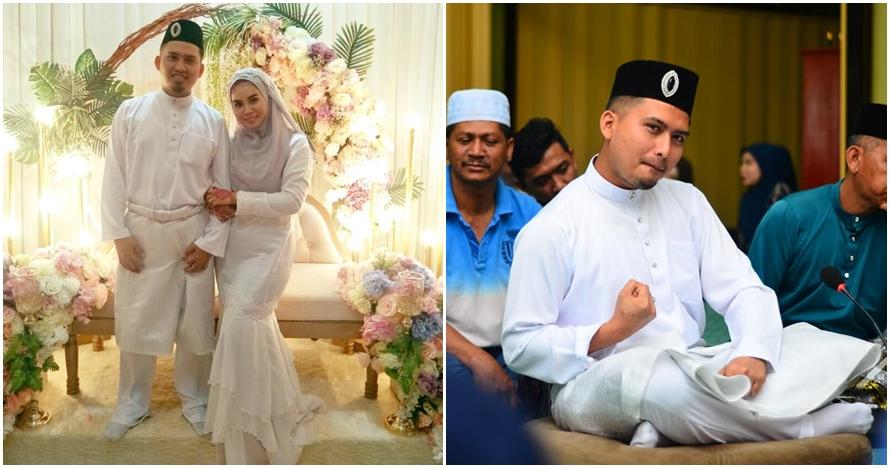 Biar tak grogi ijab kabul, pengantin pria ini beraktivitas tak terduga