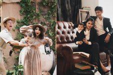 10 Momen seru Putri Titian & Junior Liem saat pemotretan bareng Iori