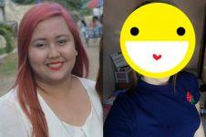 Tanpa ngegym & diet ketat, 10 foto transformasi cewek ini mengejutkan